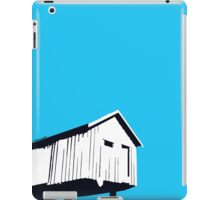 Vancouver Harbour shed on stilts iPad Case/Skin