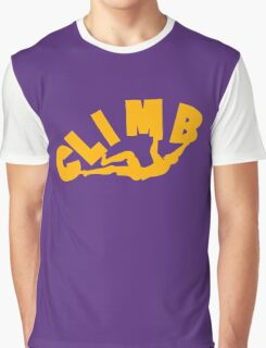 Climbing funny nerd geek geeky Graphic T-Shirt