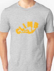 Climbing funny nerd geek geeky T-Shirt