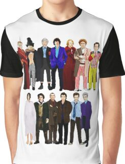 The Regenerated Doctors Graphic T-Shirt