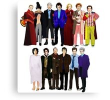 The Regenerated Doctors Canvas Print