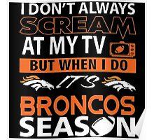 Denver Broncos Super Bowl 50 Poster