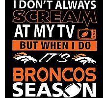 Denver Broncos Super Bowl 50 Photographic Print