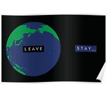 Leave/Stay_ Poster