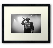 Kendrick Lamar III Framed Print