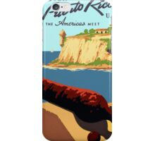 Discover Puerto Rico 1938 iPhone Case/Skin