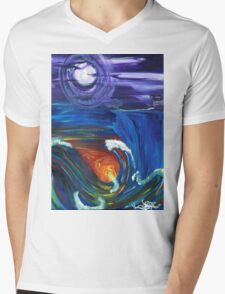 tale of two worlds Mens V-Neck T-Shirt