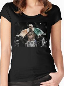 Conor McGregor - Victorious Women's Fitted Scoop T-Shirt