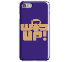 Crossfit Gear Fitness Exercise Weight lifting funny nerd geek geeky iPhone Case/Skin