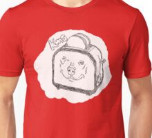 The Edgy, Little, Toaster. Unisex T-Shirt