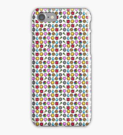 1st Gen Pokemon Badges iPhone Case/Skin
