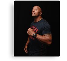 Dwayne 'The Rock' Johnson Canvas Print