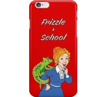 Frizzle > School Red iPhone Case/Skin