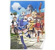 Konosuba Characters Poster