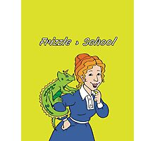 Frizzle > School Green Photographic Print