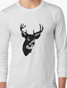 Deer on Lemon funny nerd geek geeky T-Shirt