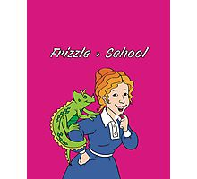 Frizzle > School Pink Photographic Print