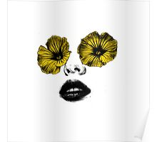 I see flowers Poster