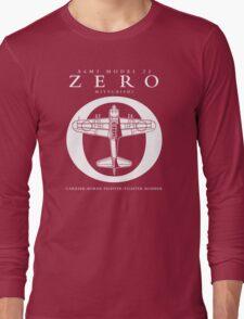 Mitsubishi Zero! Banzai! Long Sleeve T-Shirt
