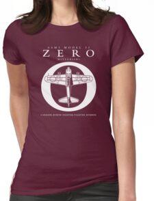 Mitsubishi Zero! Banzai! Womens Fitted T-Shirt