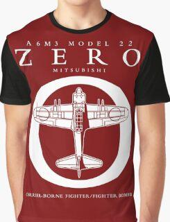 Mitsubishi Zero! Banzai! Graphic T-Shirt
