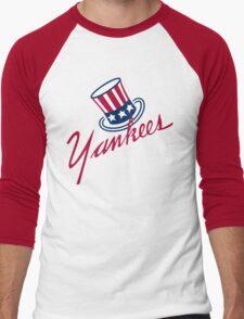 New York Yankees Old Logo Men's Baseball ¾ T-Shirt