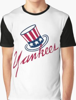 New York Yankees Old Logo Graphic T-Shirt