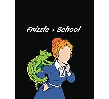 Frizzle > School Cutout Photographic Print