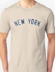 New York Yankees Simple Font Unisex T-Shirt