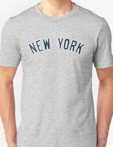 New York Yankees Simple Font T-Shirt