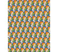 Frizzle Pattern Photographic Print