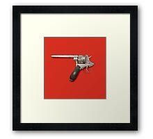 Pistol Suicide Framed Print