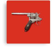 Pistol Suicide Canvas Print