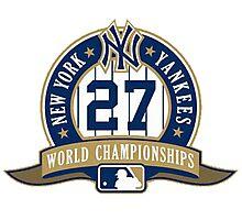New York Yankees World Championships Photographic Print