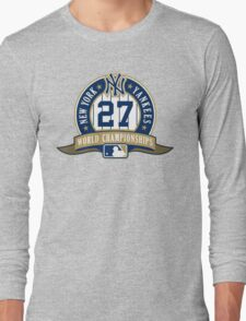 New York Yankees World Championships Long Sleeve T-Shirt