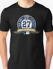 New York Yankees World Championships Unisex T-Shirt