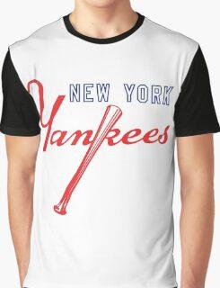 New York Yankees Old Logo Graphic T-Shirt