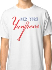 New York Yankees Old Logo Classic T-Shirt