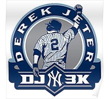 Derek Jeter New York Yankees Poster