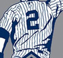 Derek Jeter New York Yankees Sticker
