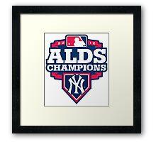 New York Yankees ALDS Champions Framed Print