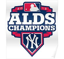 New York Yankees ALDS Champions Poster