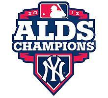 New York Yankees ALDS Champions Photographic Print
