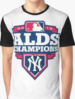 New York Yankees ALDS Champions Graphic T-Shirt
