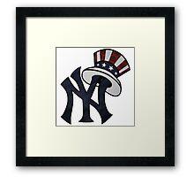 New York Yankees Atrwork Framed Print