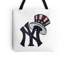 New York Yankees Atrwork Tote Bag