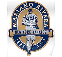 Mariano Rivera New York Yankees Legend Poster