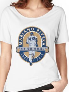 Mariano Rivera New York Yankees Legend Women's Relaxed Fit T-Shirt