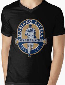 Mariano Rivera New York Yankees Legend Mens V-Neck T-Shirt