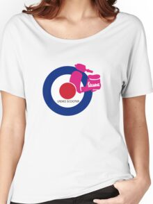 vespa ladies  Women's Relaxed Fit T-Shirt